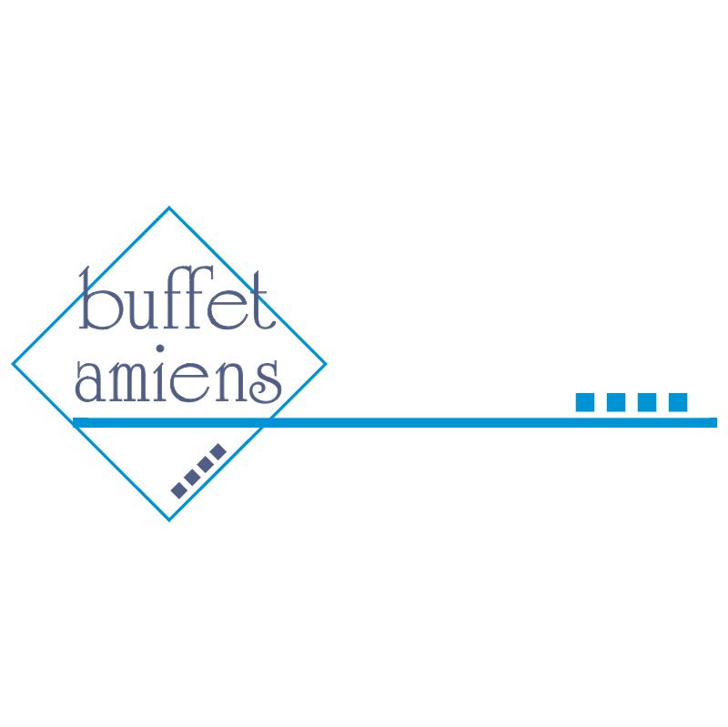 Buffet Amiens vector