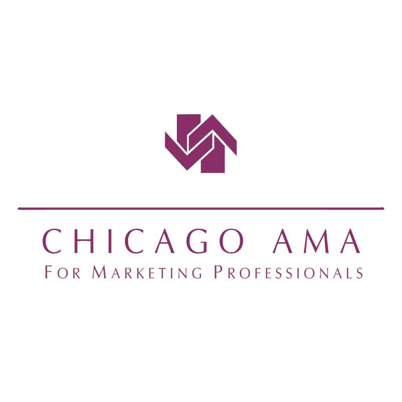 Chicago AMA vector logo