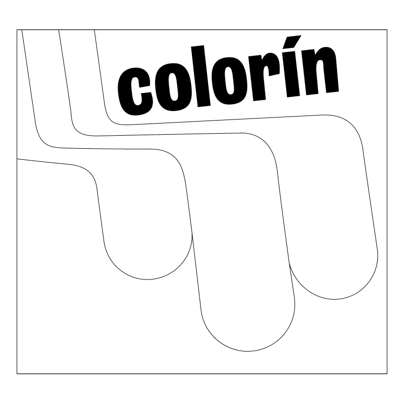 Colorin vector logo