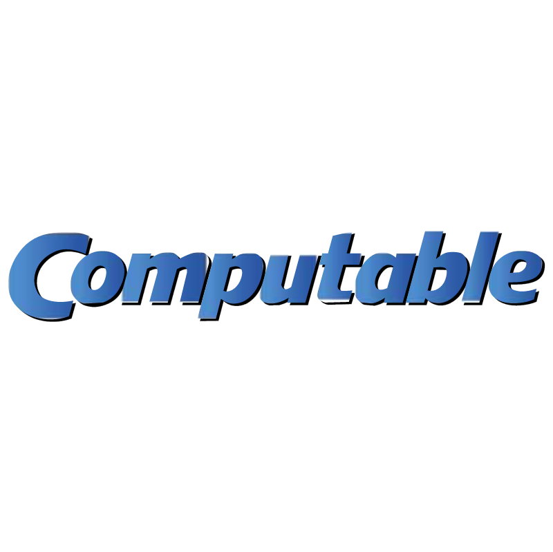 Computable vector logo