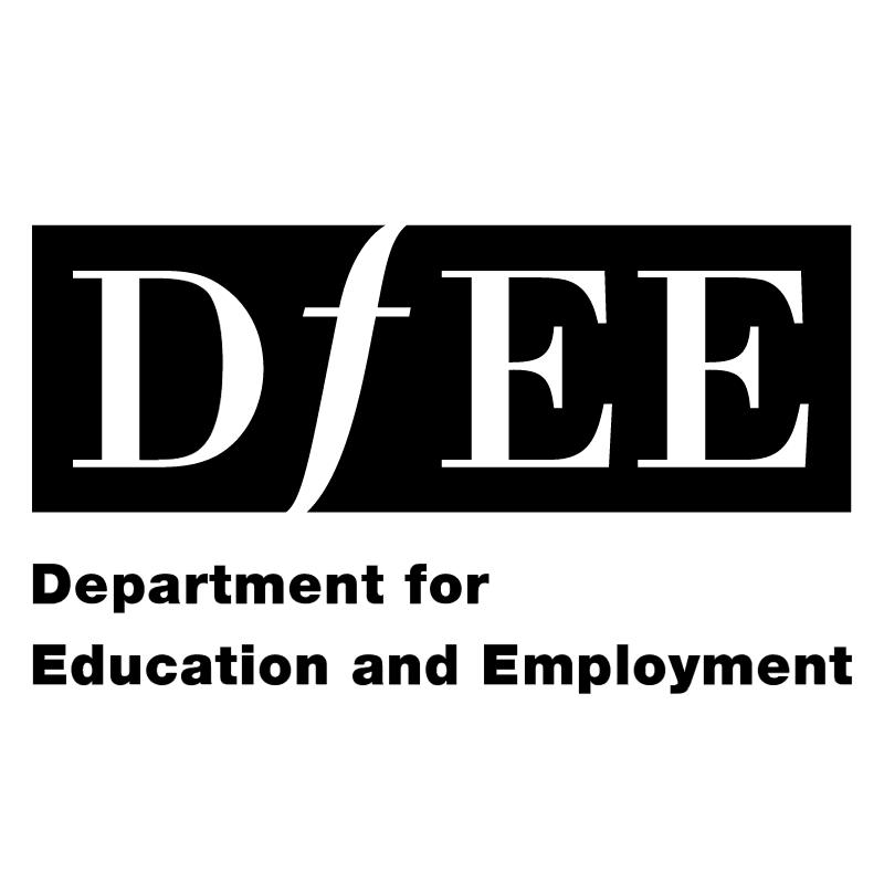 DfEE vector logo