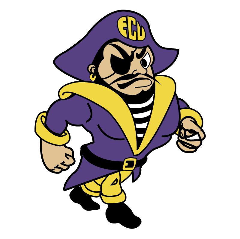 ECU Pirates vector