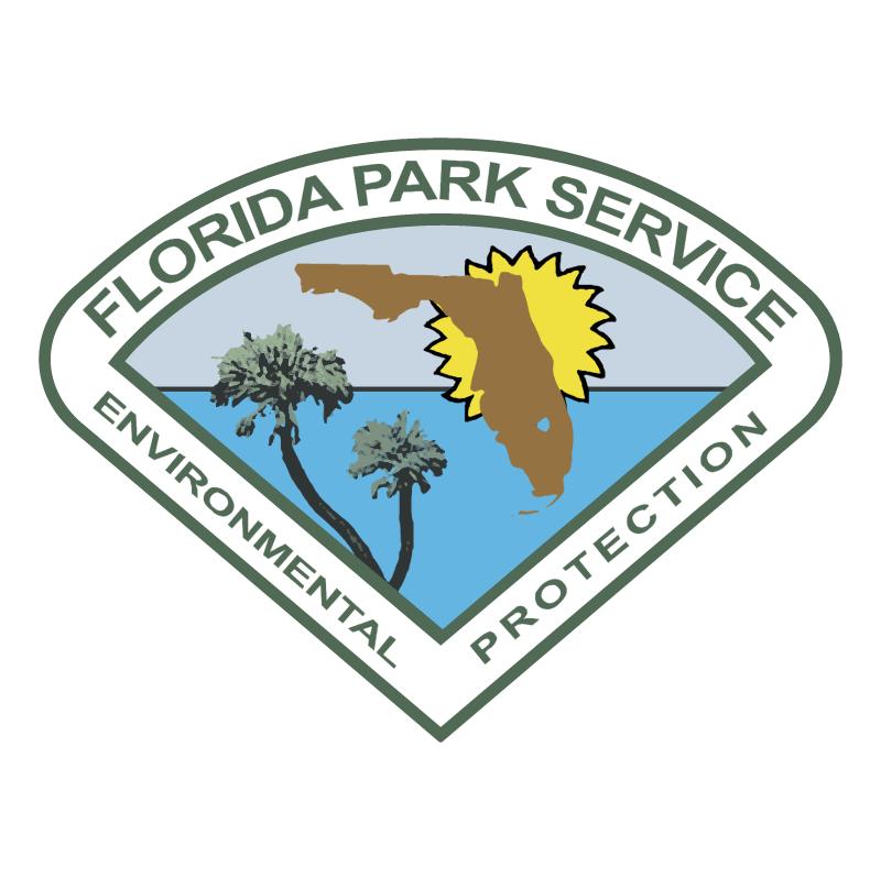 Florida Park Service vector