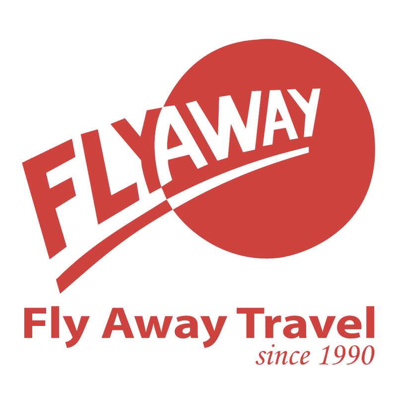 Fly Away Travel vector logo