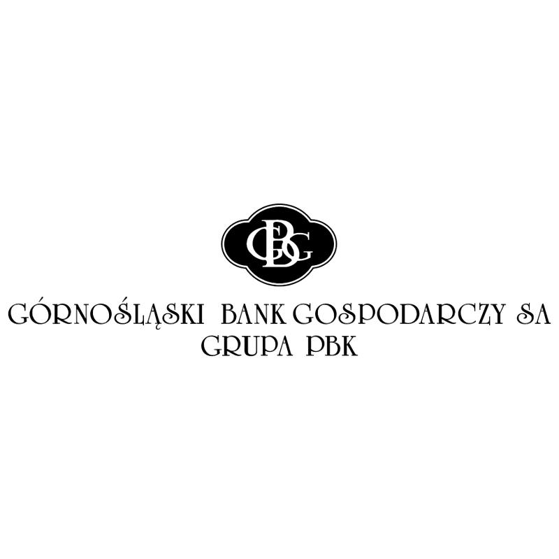 GBG Gornoslaski Bank Gospodarczy vector