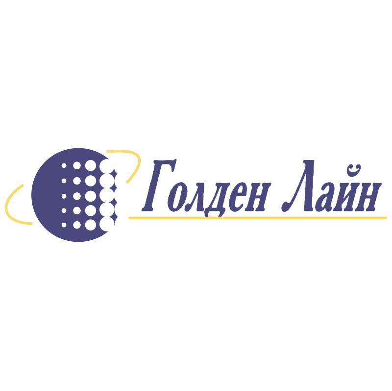 Golden Line vector logo