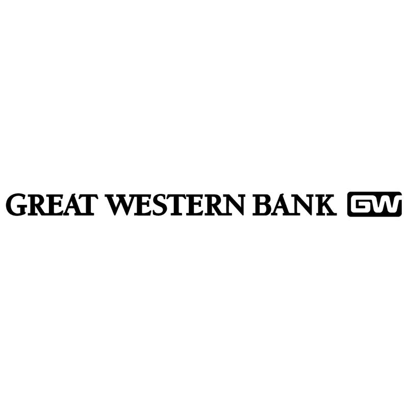 Great Western Bank vector