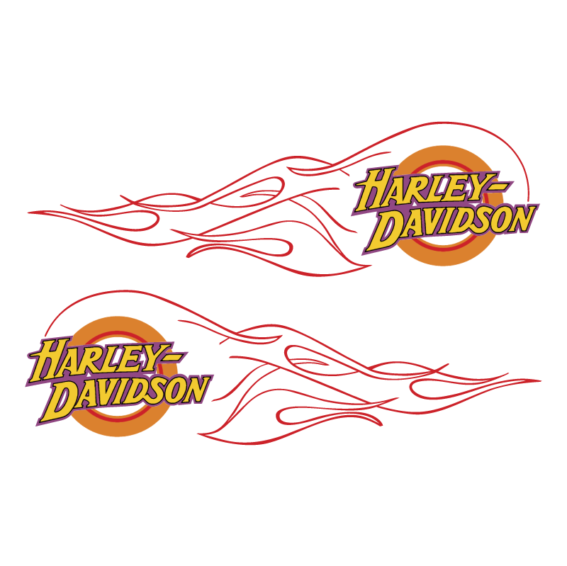 Harley Davidson flame vector