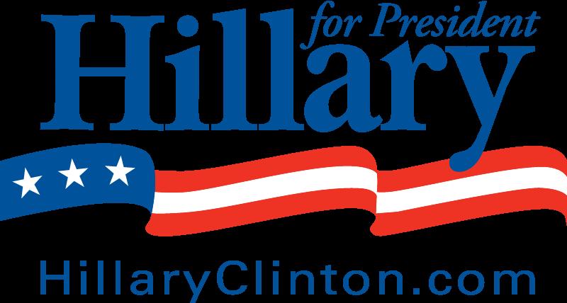 Hillary Clinton for President vector