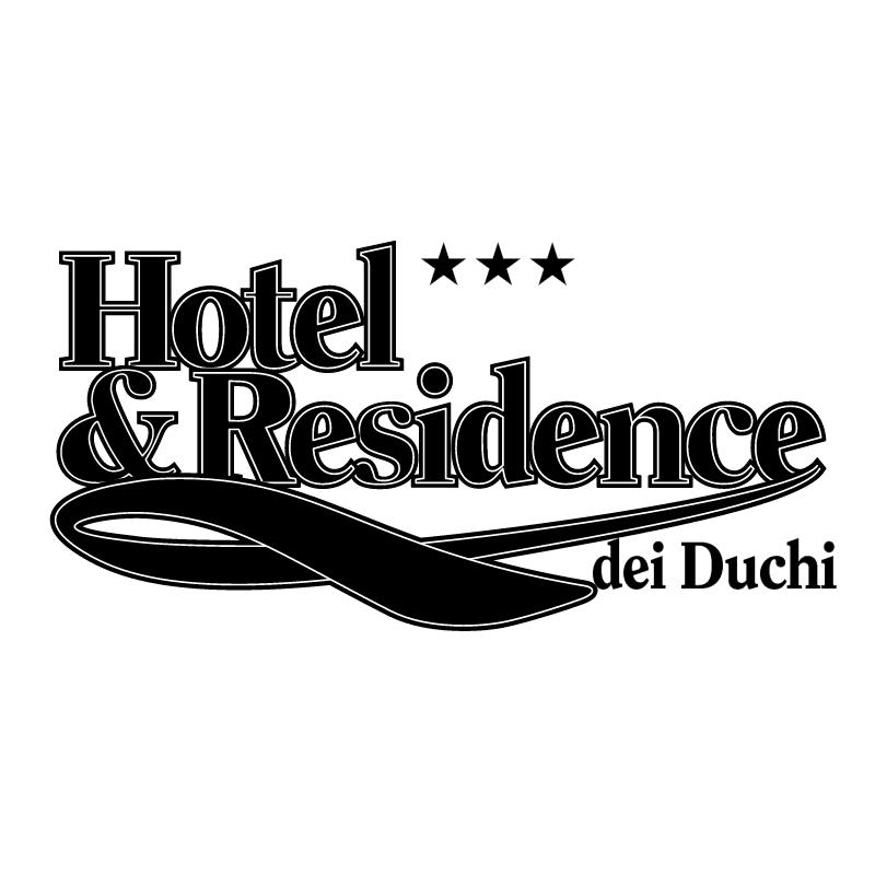 Hotel & Residence vector
