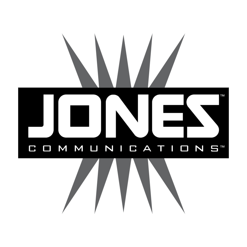 Jones Communications vector logo