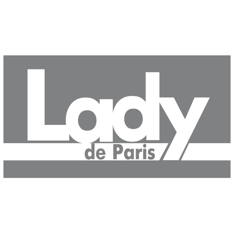Lady de Paris vector
