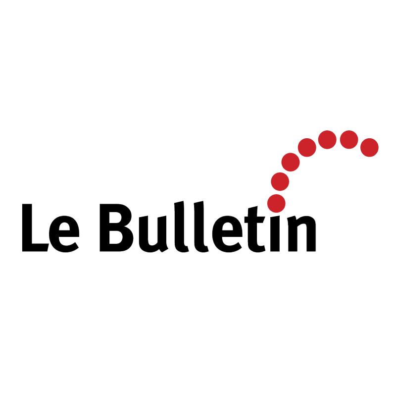 Le Bulletin vector