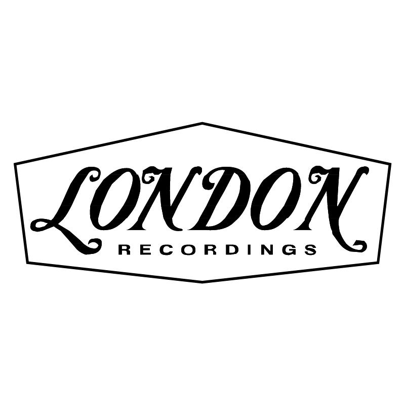 London Recordings vector