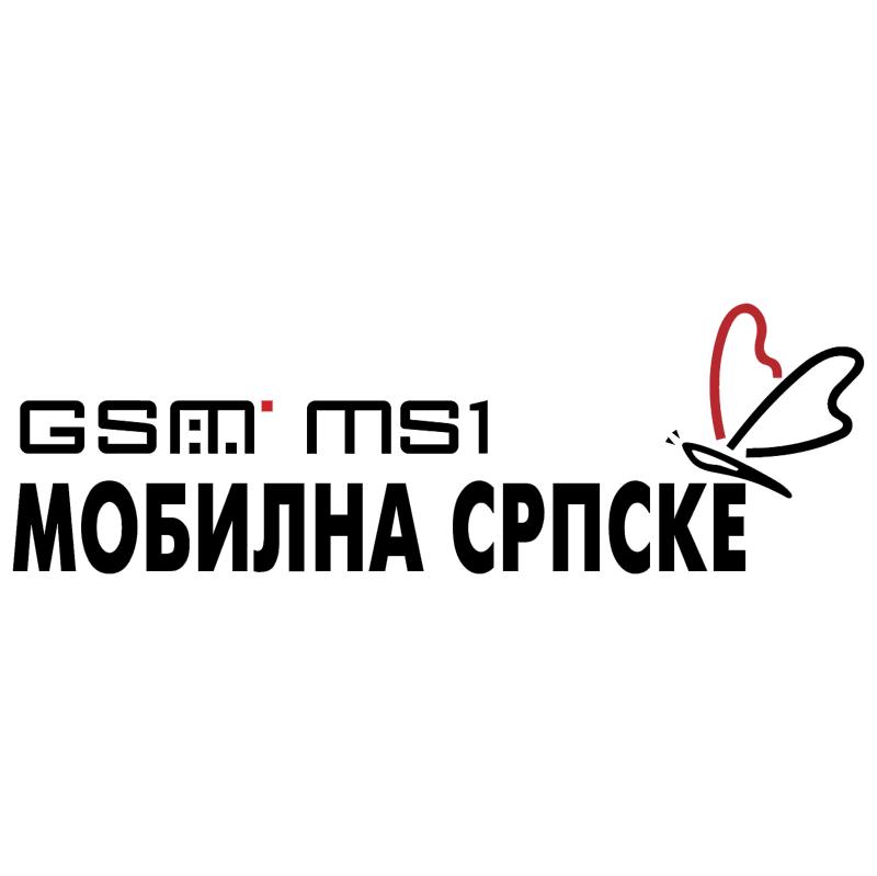 Mobilna SRPSKE GSM MS1 vector