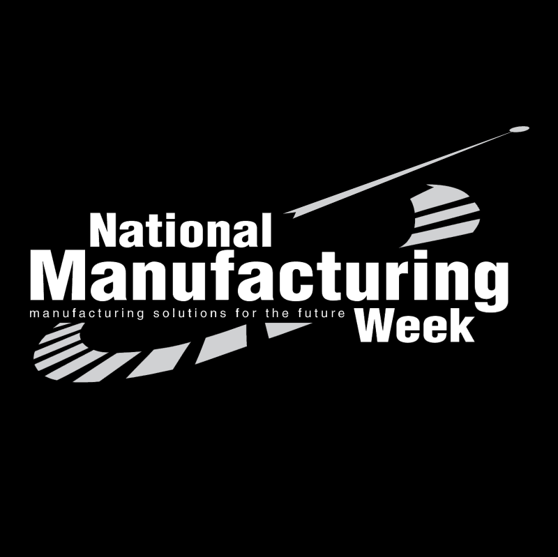 National Manufacturing Week vector logo