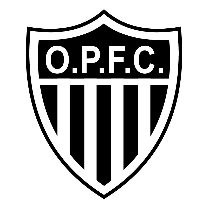 Ouro Preto Futebol Clube de Criciuma SC vector