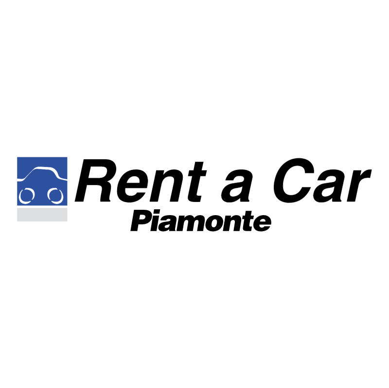 Rent a Car Piamonte vector