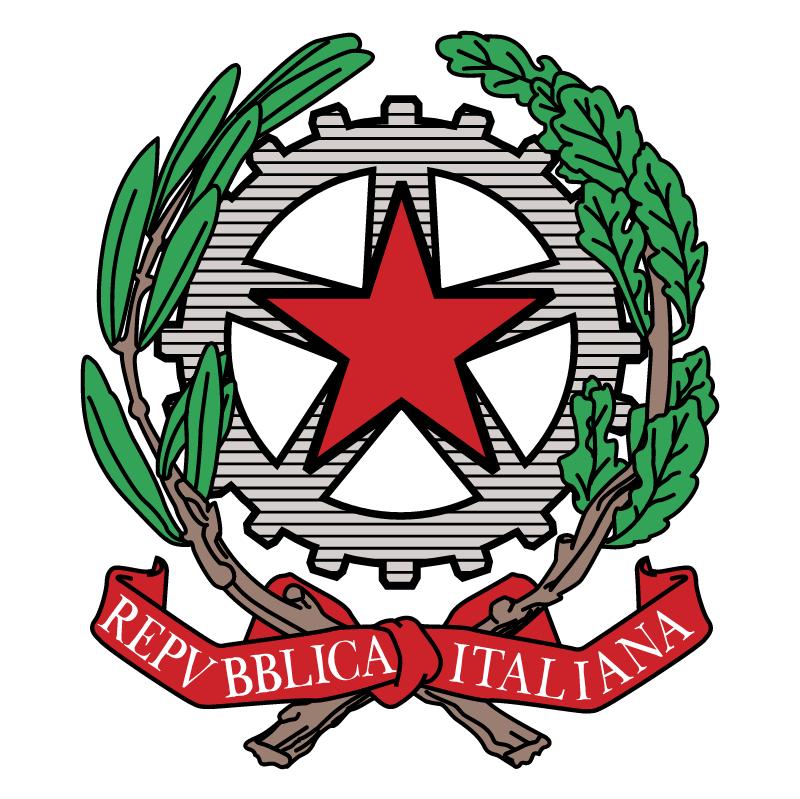 Repubblica Italiana vector