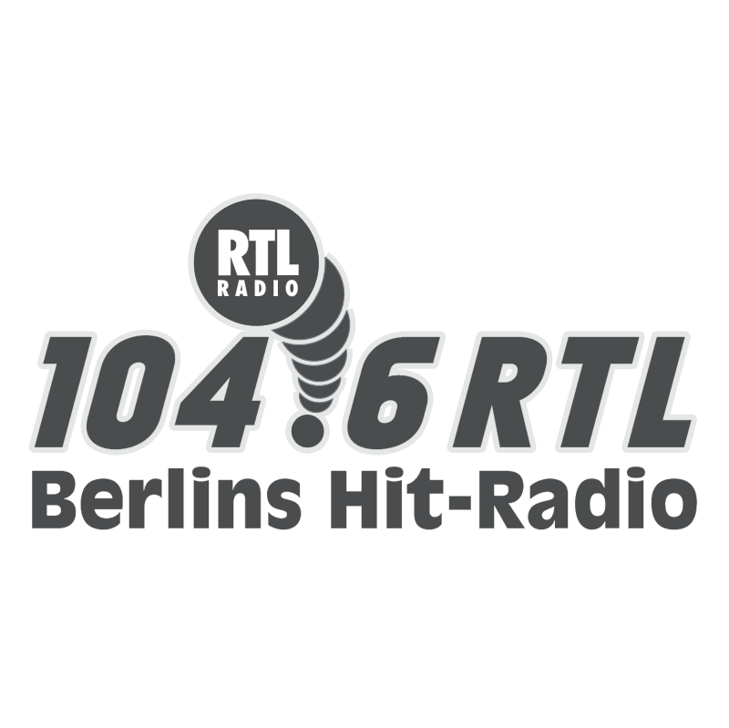 RTL Radio 104 6 vector