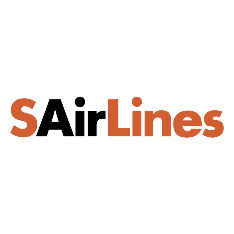 SAirLines vector