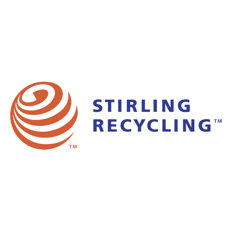 Stirling Recycling vector logo