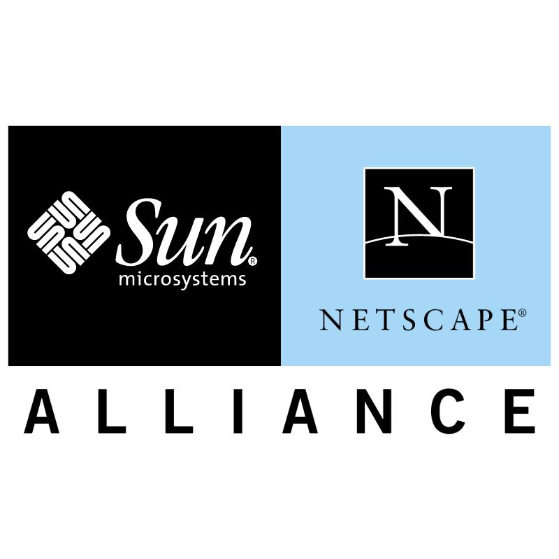 Sun Netscape Alliance vector logo