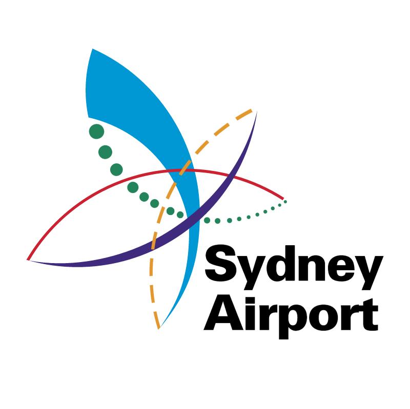 Sydney Airport vector