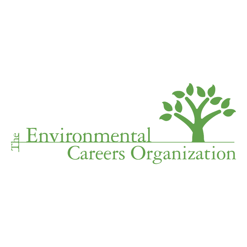 The Environmental Careers Organization vector