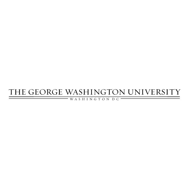 The George Washington University vector logo