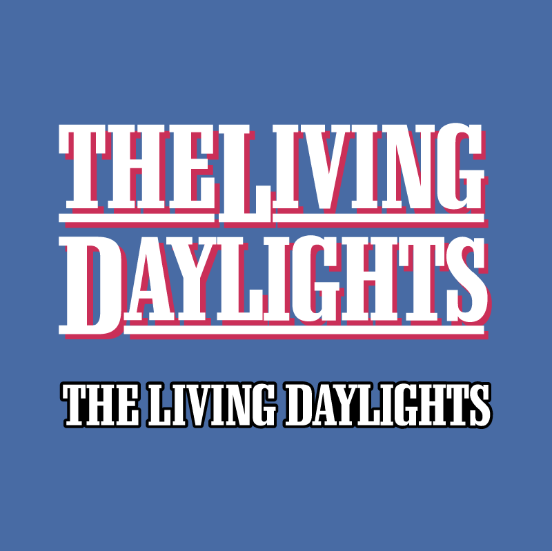 The Living Daylights vector logo