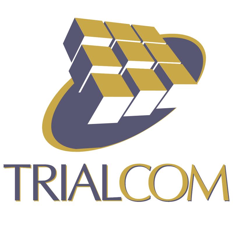 TrialCom vector logo