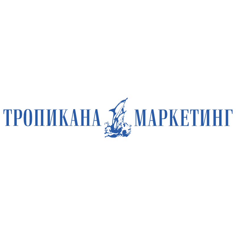 Tropikana Marketing vector logo