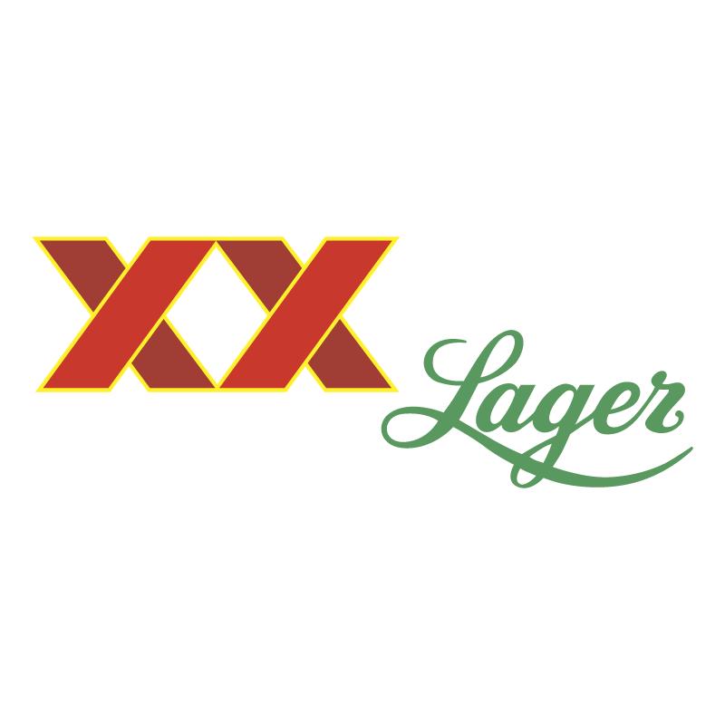XX Lager vector