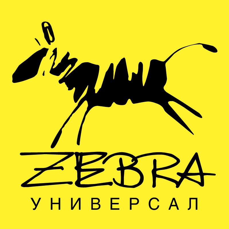 Zebra Universal vector