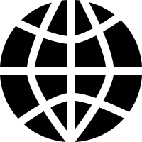 Worl wide symbol vector