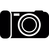 rectangular digital camera vector