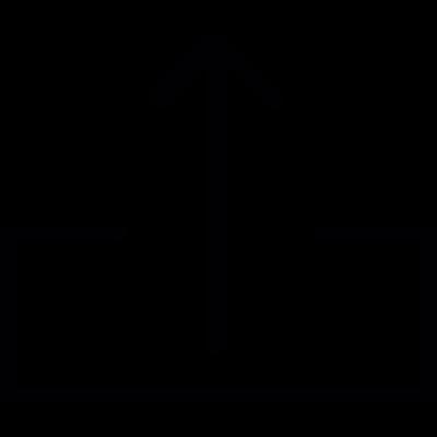 Upload, IOS 7 interface symbol vector logo