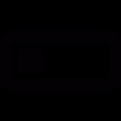 Battery level vector logo