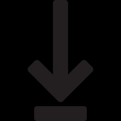 Download Arrow with Line vector logo
