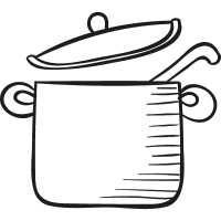 Pot with Cover vector