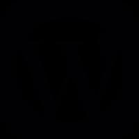 WordPress square Logo vector