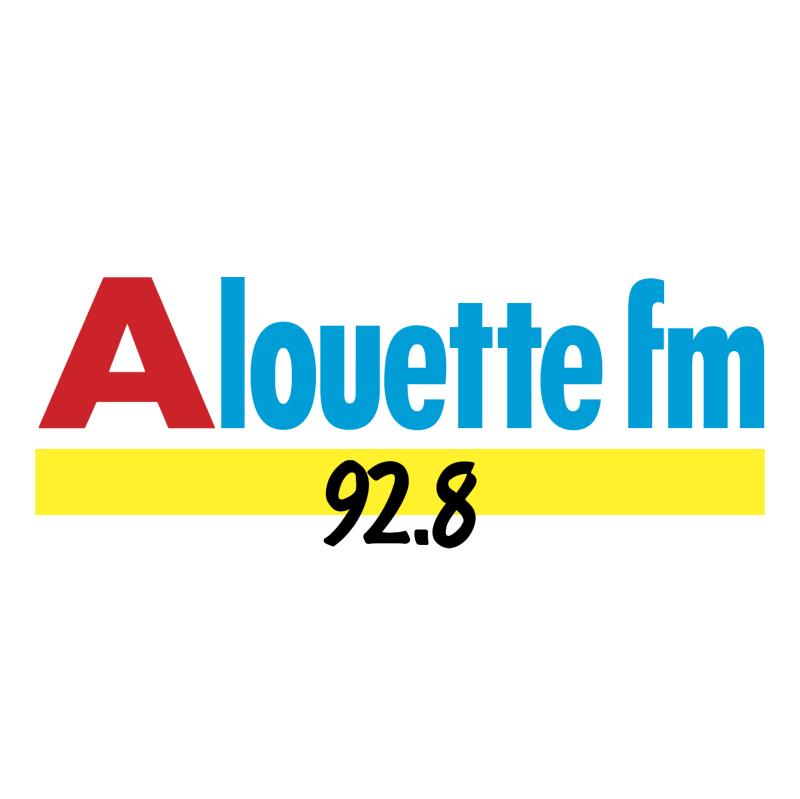 Alouette FM vector