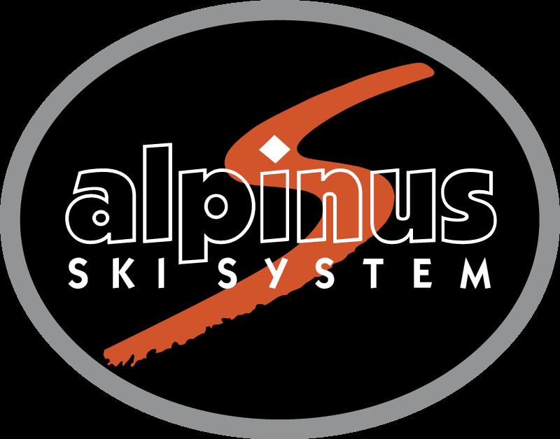 Alpinus Ski System vector