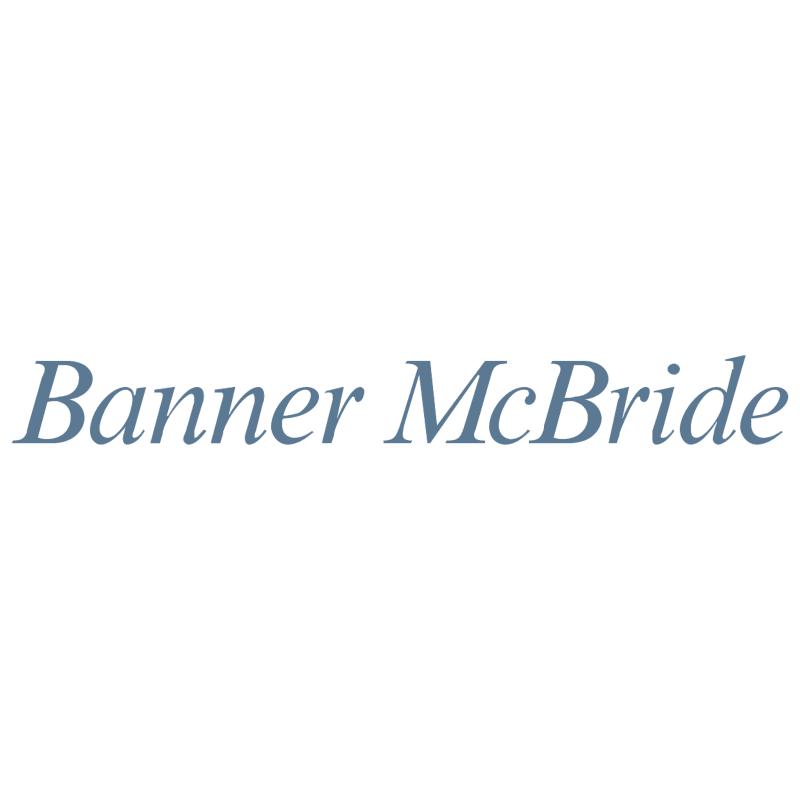 Banner McBride vector