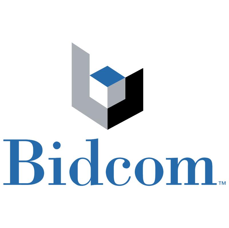 Bidcom 10401 vector logo