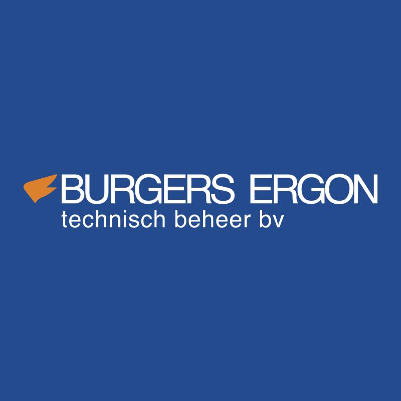 Burgers Ergon Technisch Beheer 53025 vector