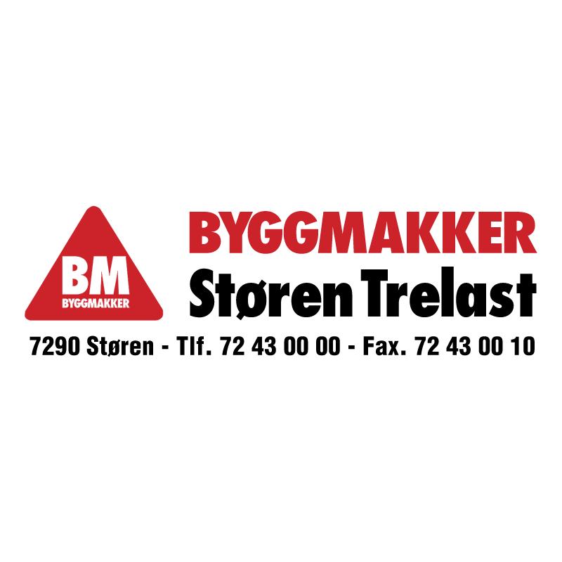 Byggmakker Storen Trelast vector logo