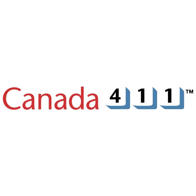 Canada 411 vector