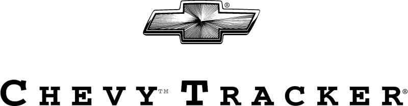 Chevy Tracker logo vector